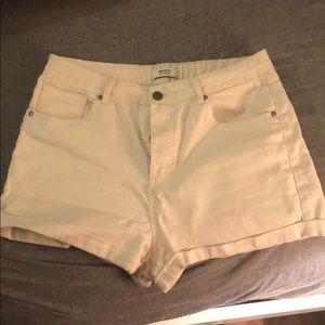 Good white shorts.